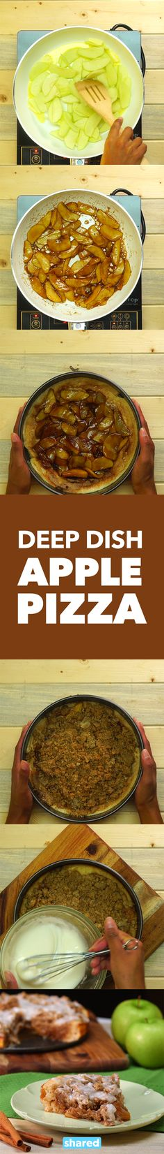 Deep Dish Apple Pizza