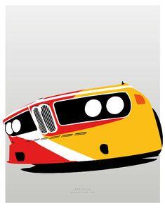 BMW 3.0 CSL 1975 Art Car