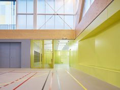 Nathalie Mauclair Gymnasium,© David Foessel