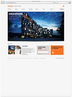 Orange Investments. on Branding Served