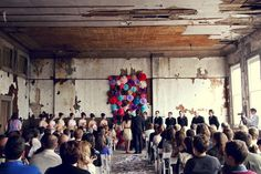 From one of my favorite weddings - Elsie Larson's (of A Beautiful Mess)