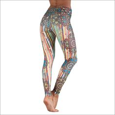 Niyama Colorful and Artistic Yoga Pant for Women - Circus - Shaping Compression Legging Yoga Pants, Harem Pants, Pajama Pants, The Girl Who, Fashion Brands, Pants For Women, How To Make, How To Wear, Topshop