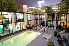 Fenway's newly renovated hotel is the city's hip place to stay: The Verb Hotel Outdoor Heated Pool