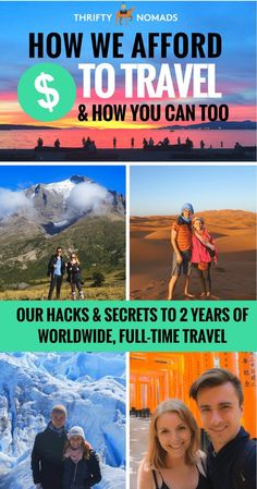 How did we afford 2.5 years of full-time, worldwide travel? We reveal our secrets to becoming nomads & share EXACTLY how you can long-term travel, too!