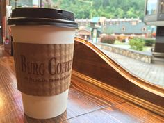 Burg Coffee in downtown #Gatlinburg brings European flavor and style to our little Appalachian food scene.