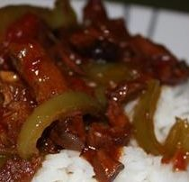 This recipe for venison pepper steak is perfect. The sauce is delicious and the meat is Deer Steak Recipes, Venison Sausage Recipes, Deer Recipes, Easy Steak Recipes, Pork Recipes, Cooking Recipes, Venison Meals, Game Recipes, Beef