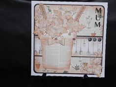 Mum card made from Craftwork Cards Potting shed collection