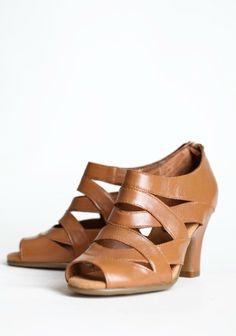 Farrah Strappy Heels | Modern Vintage Shoes