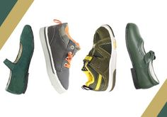 Crazy for Camo: Kids' Shoes -   If your kids are all all over the camo craze (like we are), here's a selection of shoes to compliment all their camouflage duds. From deep green mary janes for her to soft grey chukkas for him, you'll find just the right footwear to pair with their camo leggings, cargo pants and hoodies.        ...  #Boot, #Bootie, #Chukka, #Dress, #Laceup, #RubberSole, #Sneaker, #Tie