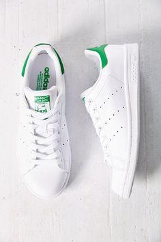 Zapatillas Adidas Originals Stan Smith verde para chica. Adidas Stan Smith green for women.