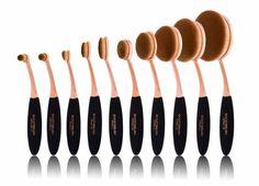 De Boozy Cosmetics 10 pc BoozyBrush Artistry Set bestel je makkelijk online bij…