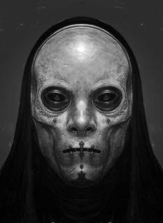 yearoftheknife: xombiedirge: Harry Potter Concept Art: Death Eaters by Rob Bliss Arte Horror, Horror Art, Horror Film, 3d Fantasy, Dark Fantasy, Photoshop, Death Eater Mask, Character Inspiration, Character Art
