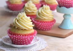 I love this ultimate Vanilla Cupcake Recipe not only because it's easy to make but also because it's really moist, not too sweet and simply wonderful.