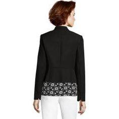 Betty Barclay Shirtjacke Mit Reißverschluss Dunkelblau/weiß - Blau
