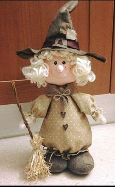 Heavenly Angel - Cloth Doll E-Pattern- Beautiful Holiday Lace Heavenly Angel free standing stump doll Halloween Sewing, Halloween Doll, Halloween Ornaments, Halloween Patterns, Holidays Halloween, Halloween Crafts, Halloween Decorations, Felt Crafts, Diy And Crafts