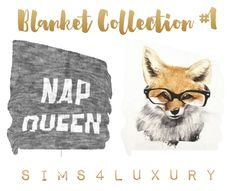 Blanket Collection #1 | Sims4Luxury