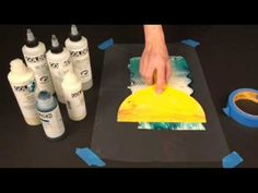 ▶ Creating and Printing on Acrylic Skins with GOLDEN Acrylics and Digital Grounds - YouTube