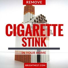 how to get rid of cigarette smell in walls