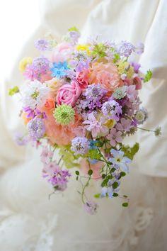 Fairy Garden Sweet Inspired Bridal Bride Wedding Bouquet