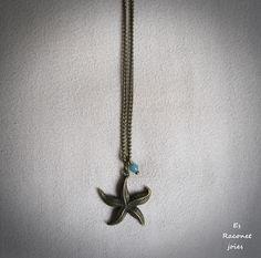 Collar estrella de mar.