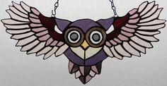 Peek-A-Boo Purple Owl by GhostyBoo.deviantart.com on @DeviantArt