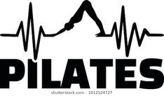 Vetor stock de Heartbeat Pulse Line Pilates Word Pilates (livre de direitos) 1012524721 Heartbeat pulse line pilates with silhouette Pilates Chair, Pilates Poses, Chair Yoga, Pilates Reformer, Joseph Pilates, Pilates Training, Pilates Workout, Studio Pilates, Pilates Clothes