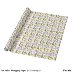 Fun Safari Wrapping Paper