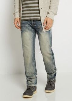 ad24dda533c1 Flex Vintage Nicked Relaxed Straight Jean