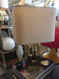 LAMPARA DE MESA LUMICA INSPIRADA EN LOS DISEÑOS DE WILLY RIZZO , AÑOS 70 , 300€