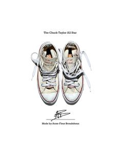 - THE CHUCK TAYLOR ALL STAR - Made by Anne-Fleur Broudehoux