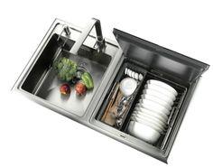 Streamline Hoods dishwasher sink