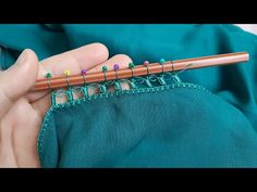 ilk kez gördüm, bayıldım – back Crochet Edging Patterns, Crochet Lace Edging, Tatting Patterns, Hand Embroidery Patterns, Baby Knitting Patterns, Crochet Stitches, Knit Crochet, Tambour Embroidery, Crochet Decoration