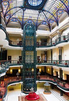Gran Hotel, Ciudad de Mexico