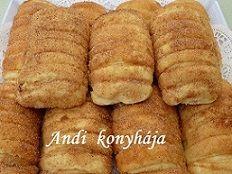Andi konyhája - Sütemény és ételreceptek képekkel - G-Portál Hot Dog Buns, Hot Dogs, Bread Rolls, Bread Recipes, Rum, Cookies, Sweet, Food, Eten
