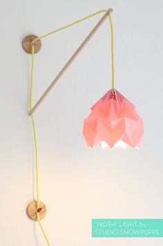 """Moth"" Light by Studio Snowpuppe"