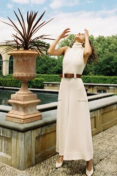 Mara Hoffman Resort 2019 New York Kollektion - Vogue, Look Fashion, Fashion Beauty, Fashion Tips, Fashion Design, Fashion Trends, Womens Fashion, Essentiels Mode, Vogue, Looks Vintage