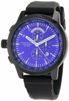 Android Men's AD384ABU Aniforce Lefty Chrono Blue Dial ME Watch Android. $97.34