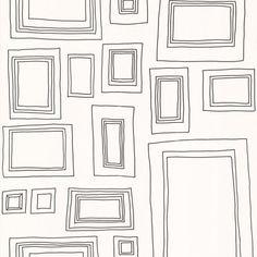 Frames Black and White Wallpaper