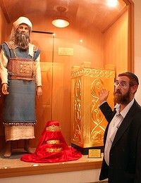 Yehuda Glick, director of the Temple Institute in Jerusalem, is preparing for the arrival of the Messiah. Photo: Gali Tibbon    Read more: http://www.theage.com.au/world/faithful-funds-help-museum-prepare-for-the-end-20091113-iert.html#ixzz2DiMX4JxL