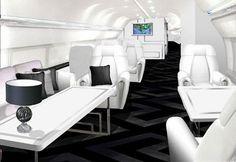 """Самые роскошные частные самолеты мира """" The Good Life - Новости и статьи для людей с дорогим вкусом"""