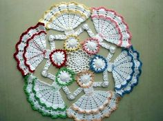 40 Pretty and Easy Crochet Doily for Beginners