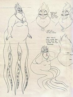 Of course, there's always body language #littlemermaid #Disney #Ursula
