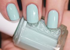 A beautiful color for the summer time!  #essie  Follow us on #facebook:https://www.facebook.com/WestfieldGalleriaatRoseville