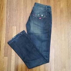 "Selling this ""Miss Sixty flare denim"" in my Poshmark closet! My username is: janeenieb. #shopmycloset #poshmark #fashion #shopping #style #forsale #Miss Sixty #Denim"