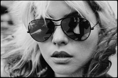 """""""By 1975,"""" says Stein, """"we were plunging ahead with the band and I was taking pictures of everything around me, among them Debbie. I was always aware of her astonishing looks and the effect she had on people."""" Photograph: Chris Stein"""