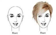 Image result for short hairstyles for heart shaped faces