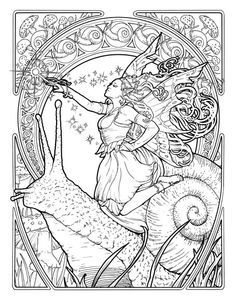 art deco coloring book - Google Search