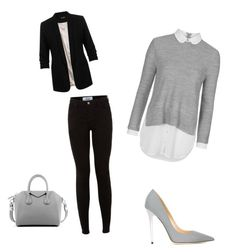 """""""Untitled #28"""" by soukupova-t on Polyvore featuring Topshop, Jimmy Choo, Miss Selfridge, Givenchy, women's clothing, women's fashion, women, female, woman and misses"""