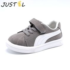 JUSTSL Spring Autumn Baby boy girls canvas kids shoes children flat with casual  shoes kids non-slip fashion sneakers size 7fcdbbe97b01