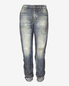 Rag & bone/JEAN Miramar Digital Print Sweatpant Jean